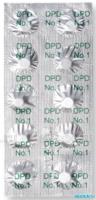 Реагентные таблетки DPD№1 (для измерения свободного Cl)